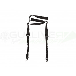 Sangle 2 points Bungee Noire