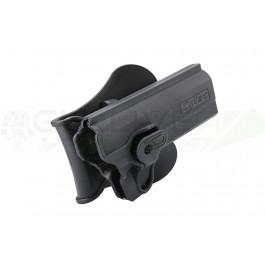 """Holster noir rigide pour Colt 1911 5"""""""