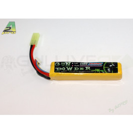 Batterie lipo 1100mah 11,1v - 1 Stick - connecteur mini type