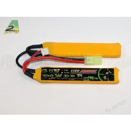 Batterie lipo 1100mah 7.4v - 2 Stick