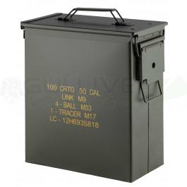 Caisse à munition US acier occasion Cal.50