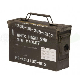Caisse à munition US métal occasion Cal.30 / 7.62