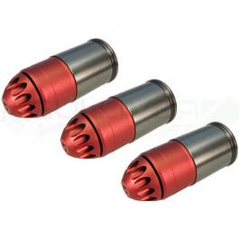 Pack de 3 grenades gaz 120 bbs m203 - King Arms