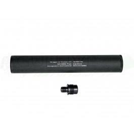 Silencieux + adaptateur Hush XL pour Sniper AW308