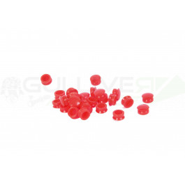 100 Bouchons rouges pour grenade S-Thunder