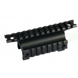 Rail de montage triple pour MP5 - UTG