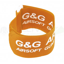 Brassards orange fluo G&G par 6