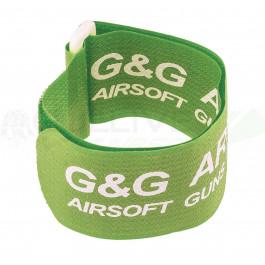 Brassards vert fluo G&G par 6