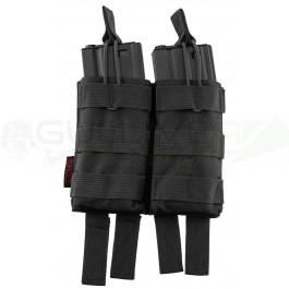 Pochette PMC double chargeur M4 noire NUPROL