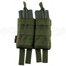Pochette PMC double chargeur M4 verte NUPROL