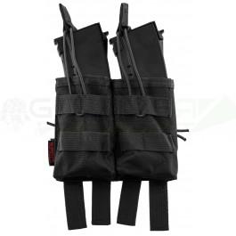 Pochette PMC double chargeur AK noire NUPROL