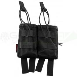 Pochette PMC double chargeur G36 noire NUPROL