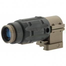 Magnifier x 3 tech 800 Tan Nuprol