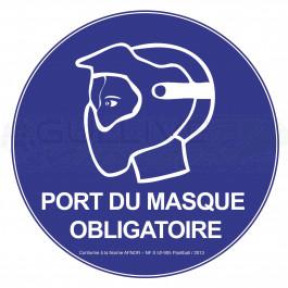 Panneau NF port du masque obligatoire