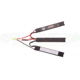 Batterie Li-po 11.1V 1300MAH 15C 3 Sticks Duel Code