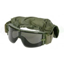 Masque de protection anti-buée vert OD 3 verres