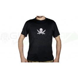 T shirt combat anti transpiration noir Emerson L