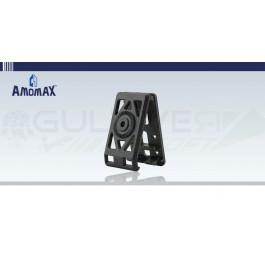 Clips adaptateur de ceinture pour Holster rigide à retention Noir Amomax