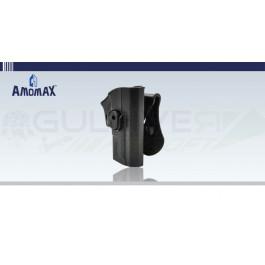 Holster rigide à retention type SP2022 Noir Amomax