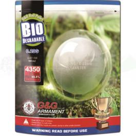 Billes Bio 0.23gr Blanches - G&G - 1kg (x4350)