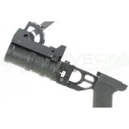 lance grenade Full Métal pour AK avec 3 grenades + poche triple
