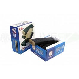 Chargeurs M4  MID-CAP 120 billes ABS G&G noir/tan en pack de 5