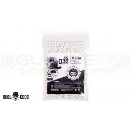 Billes Bio 0.36gr (1000bbs) Ultra blanches Duel Code