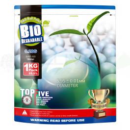 Billes Bio 0.20gr Blanches - G&G - 1kg (x5000)