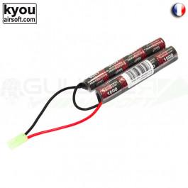 Batterie 9.6v 1600mah prise mini Tamiya