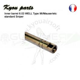 Canon de Précision 6.03 500mm pour Mauser et AW308