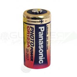 Piles lithium CR123A a l'unité