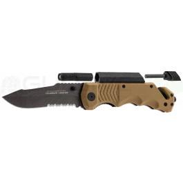 Couteau pliant tactique/survie K25