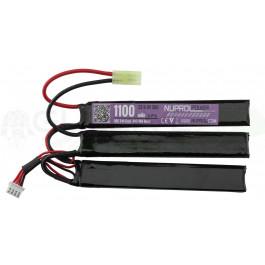 Batterie LI-FE 9.9V - 1100mAh 20C 3 sticks