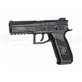 Réplique pistolet cz p-09 abs Noir gaz ASG