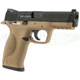 Réplique pistolet big bird full auto tan WE gaz