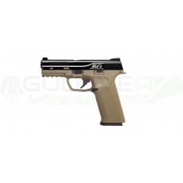 Réplique pistolet GBB black léopard eyes alpha tan culasse Noir - ics