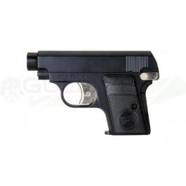 Réplique de pistolet gh25 Noir gaz culasse fixe - src