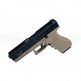Réplique de pistolet SAIGO YAKUZA 18 AEP TAN