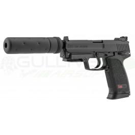 Réplique pistolet H&K USP Tactical avec silencieux