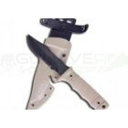 Couteau type M37-K en plastique souple - TAN