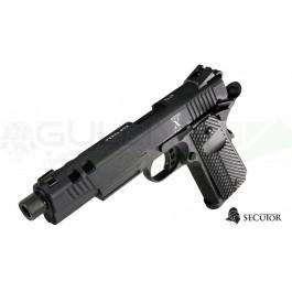 Réplique de pistolet Rudis Black Secutor