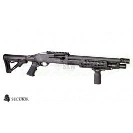 Réplique de fusil à pompe VELITES S-V Grey