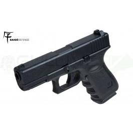 Réplique de poing GBB type Glock 23 Noir Saigo/KJW