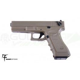 Réplique de pistolet SAIGO 18 AEP TAN