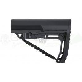 Crosse type Battlelink avec corde pour M4-M16 Noir