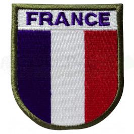 Patch brodé France autogrippant