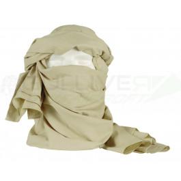 Chèche (écharpe) dimension 1m05 x 2m25, couleur sable