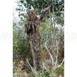 Combinaison de camouflage Ghillie filet Woodland