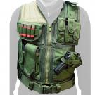 Veste swiss arms tactique od green avec holster et ceinturon