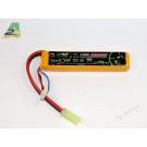 Batterie lipo 1100mah 7.4v - 1 Stick